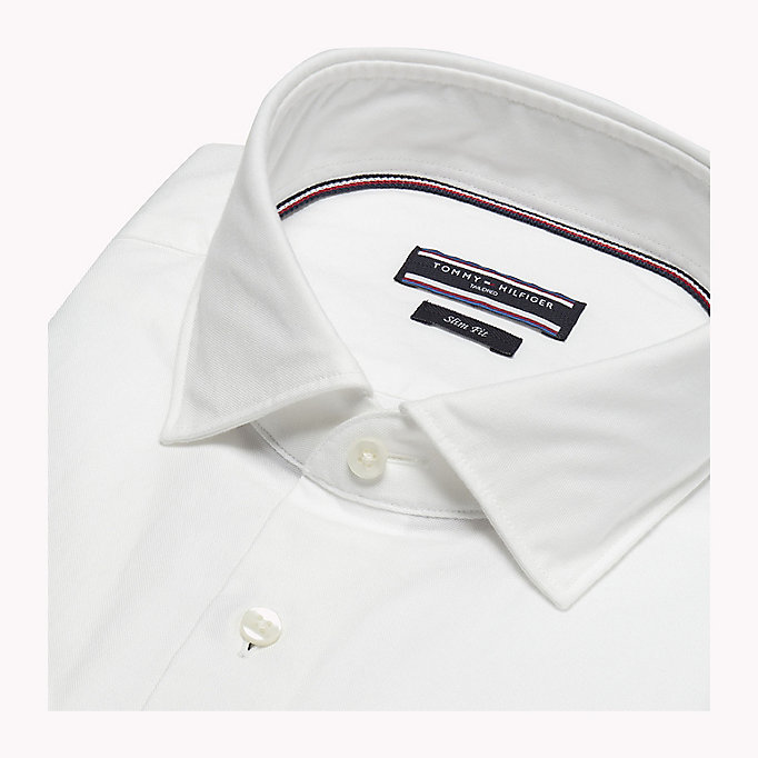 TOMMY HILFIGER Washed Slim Fit Oxford Shirt - 603 - TOMMY HILFIGER Men - detail image 4