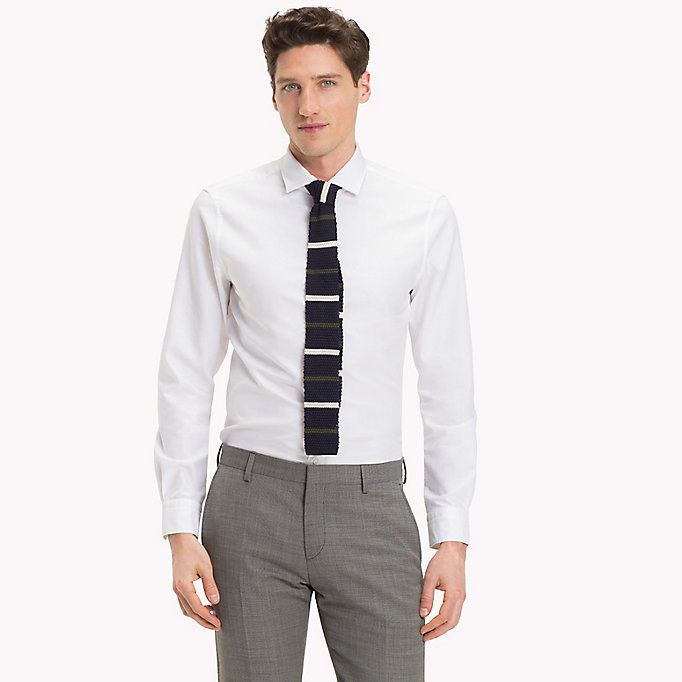 TOMMY HILFIGER Washed Slim Fit Oxford Shirt - 603 - TOMMY HILFIGER Men - main image