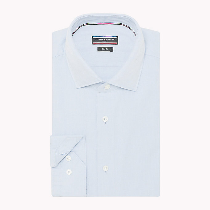 TOMMY HILFIGER Washed Slim Fit Oxford Shirt - 100 - TOMMY HILFIGER Men - detail image 1