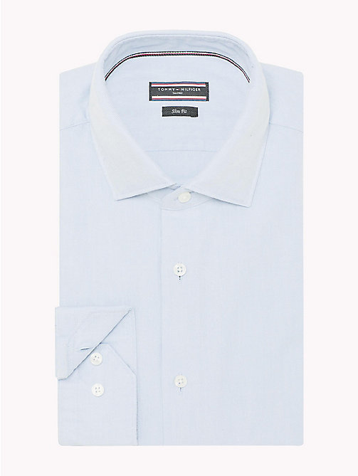 TOMMY HILFIGER Slim Fit Oxfordhemd im Washed-Look - 411 -  Businesshemden - main image 1