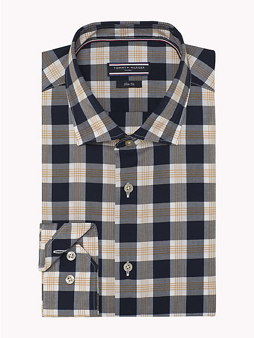 TOMMY HILFIGER Check Slim Fit Shirt - 427 - TOMMY HILFIGER Formal Shirts - detail image 1