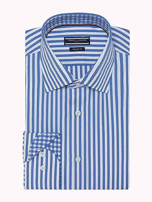 TOMMY HILFIGER Stripe Regular Fit Shirt - 412 - TOMMY HILFIGER Suits & Tailored - detail image 1
