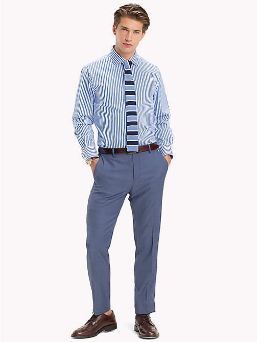 TOMMY HILFIGER Stripe Regular Fit Shirt - 412 - TOMMY HILFIGER Suits & Tailored - main image