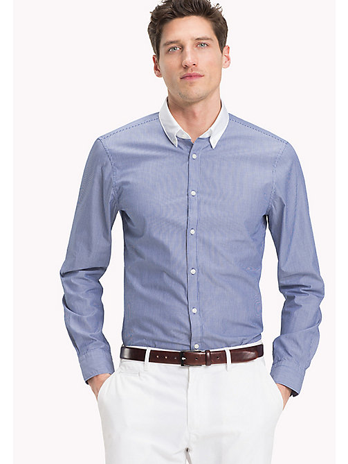TOMMY HILFIGER Washed Slim Fit Shirt - 426 - TOMMY HILFIGER Formal Shirts - detail image 1