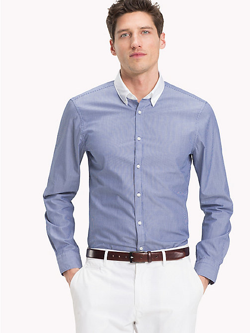 TOMMY HILFIGER Washed Slim Fit Shirt - 426 - TOMMY HILFIGER Formal Shirts - main image