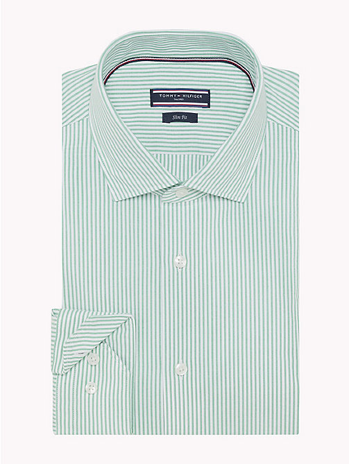 TOMMY HILFIGER Fine Stripe Seersucker Shirt - 303 - TOMMY HILFIGER Formal Shirts - detail image 1