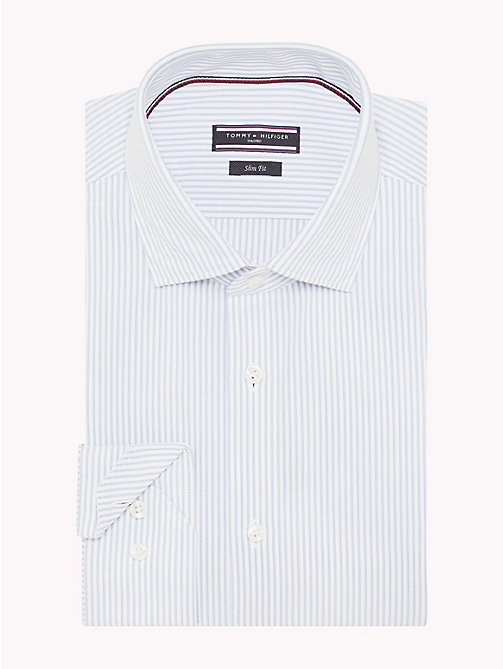 TOMMY HILFIGER Fine Stripe Seersucker Shirt - 411 - TOMMY HILFIGER Formal Shirts - detail image 1