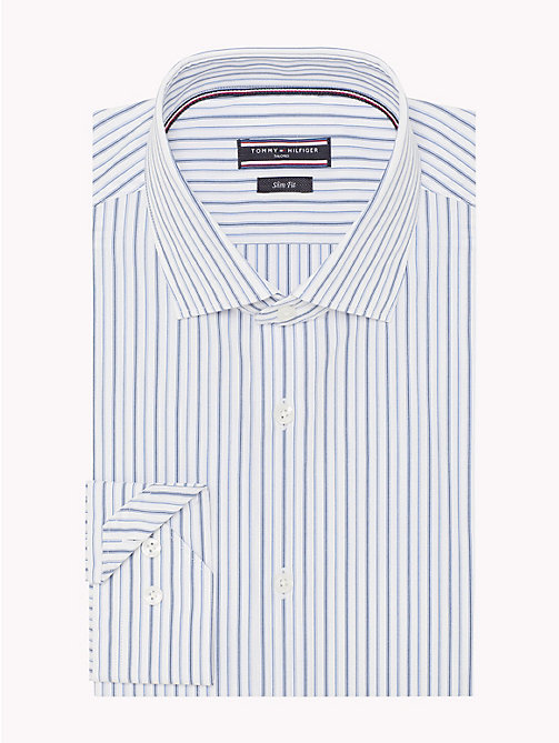 TOMMY HILFIGER Stripe Slim Fit Shirt - 411 - TOMMY HILFIGER Formal Shirts - detail image 1
