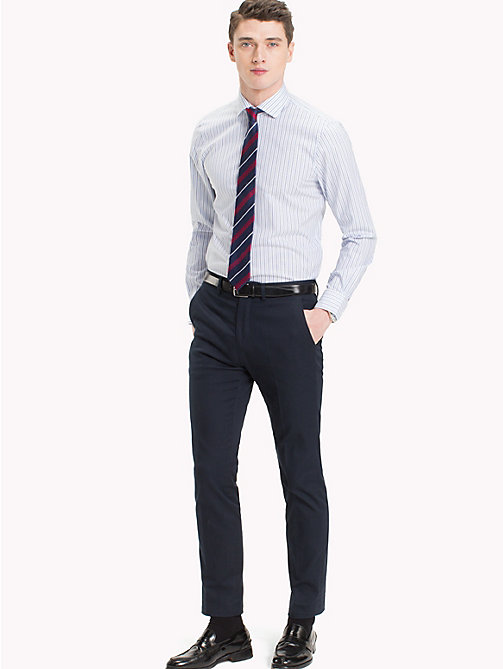 TOMMY HILFIGER Stripe Slim Fit Shirt - 411 - TOMMY HILFIGER Formal Shirts - main image