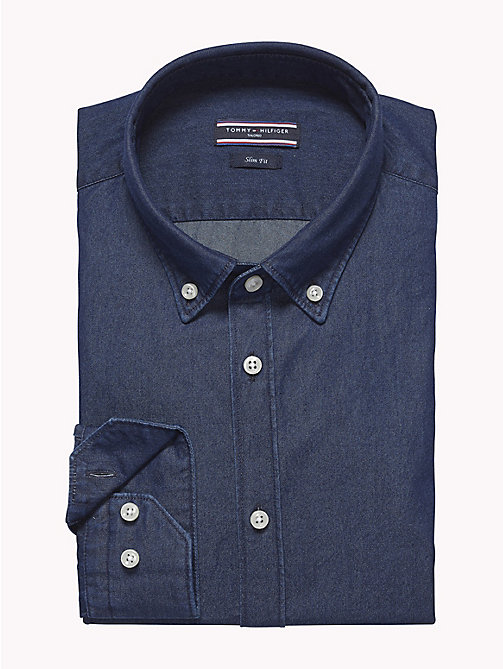 TOMMY HILFIGER Button-down-Shirt aus Baumwolle - 426 - TOMMY HILFIGER Anzüge & Tailored - main image 1