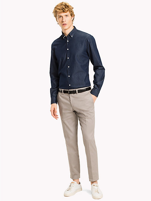 TOMMY HILFIGER Button-down-Shirt aus Baumwolle - 426 - TOMMY HILFIGER Anzüge & Tailored - main image