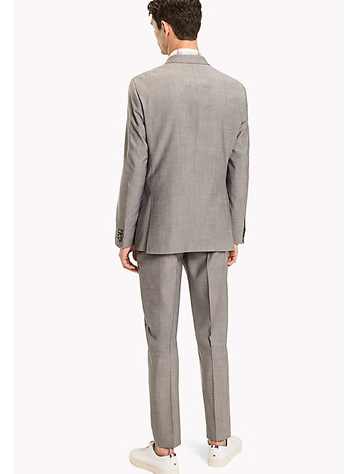 TOMMY HILFIGER Pure Wool Slim Fit Suit - 025 - TOMMY HILFIGER Clothing - detail image 1
