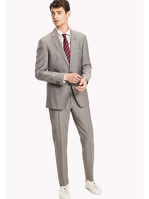 TOMMY HILFIGER Pure Wool Slim Fit Suit - 025 - TOMMY HILFIGER Clothing - main image