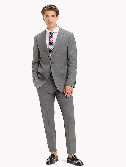 TOMMY HILFIGER Virgin Wool Regular Fit Suit - 025 - TOMMY HILFIGER Clothing - main image