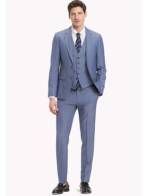 TOMMY HILFIGER Pure Wool Three-Piece Suit - 420 - TOMMY HILFIGER Clothing - main image