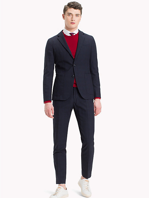 TOMMY HILFIGER Chequered Slim Fit Suit - 429 - TOMMY HILFIGER Suits - main image