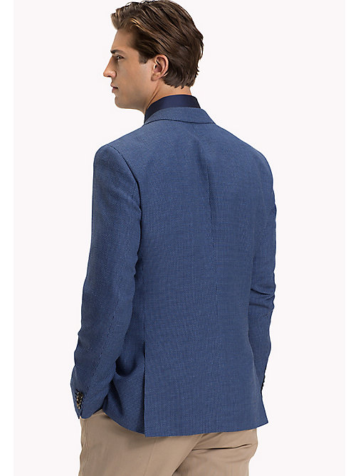 TOMMY HILFIGER Slim Fit Gingham Check Blazer - 420 - TOMMY HILFIGER Suits & Tailored - detail image 1