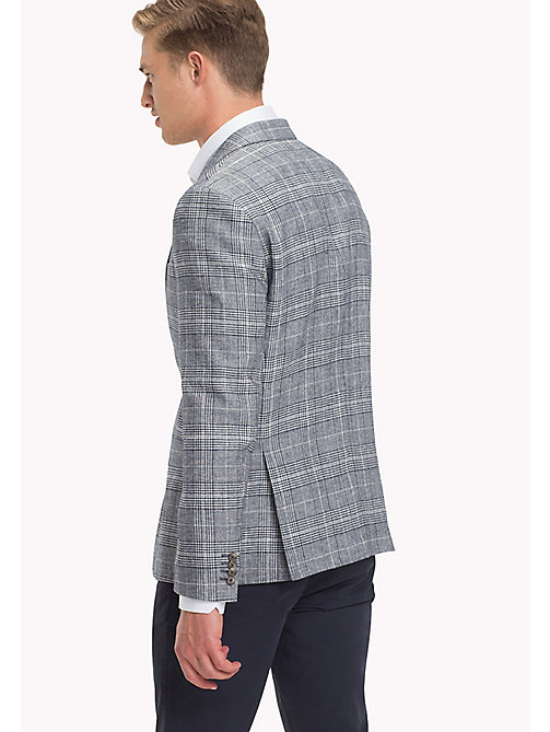TOMMY HILFIGER Check Fitted Suit Blazer - 417 - TOMMY HILFIGER Clothing - detail image 1