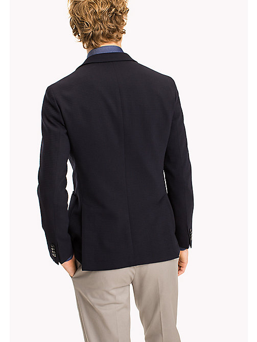 TOMMY HILFIGER Virgin Wool Tailored Blazer - 429 - TOMMY HILFIGER Blazers - detail image 1