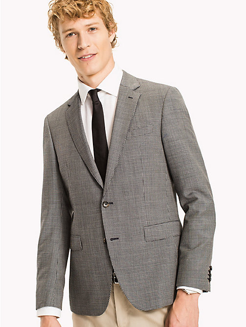 TOMMY HILFIGER Slim Fit Wool Blazer - 425 - TOMMY HILFIGER Suits & Tailored - main image