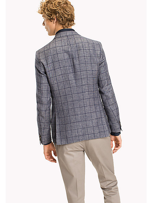 TOMMY HILFIGER Slim Fit Windowpane Check Blazer - 418 - TOMMY HILFIGER Blazers - detail image 1