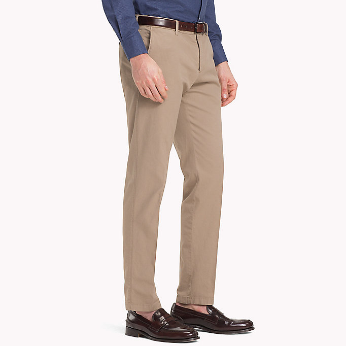 TOMMY HILFIGER Slim Fit Trousers - 429 - TOMMY HILFIGER Clothing - detail image 2