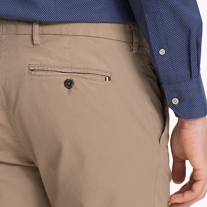 TOMMY HILFIGER Slim Fit Trousers - 429 - TOMMY HILFIGER Clothing - detail image 3