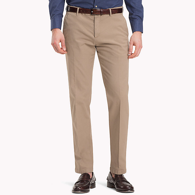 TOMMY HILFIGER Slim Fit Trousers - 429 - TOMMY HILFIGER Clothing - main image