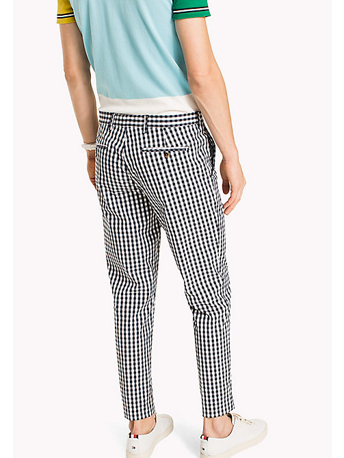 TOMMY HILFIGER Check Slim Fit Trousers - 425 - TOMMY HILFIGER NEW IN - detail image 1