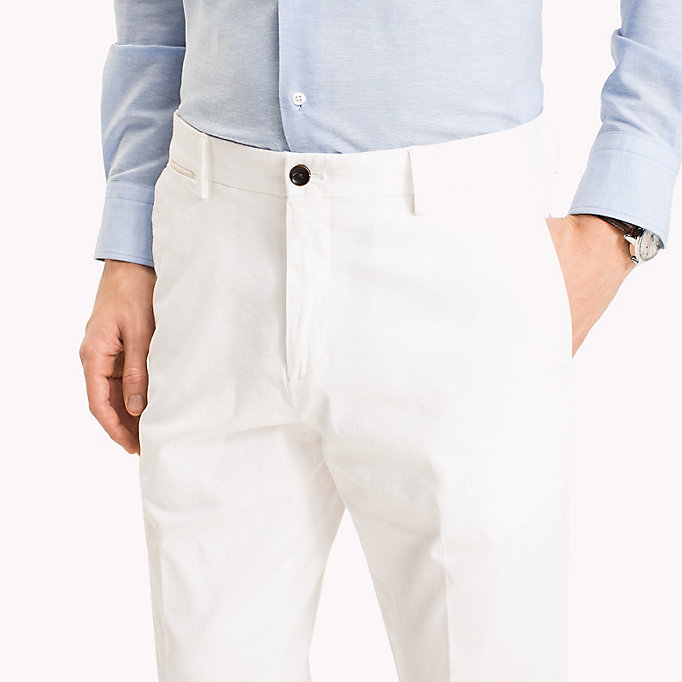 TOMMY HILFIGER Tailored Slim Fit Trousers - 309 - TOMMY HILFIGER Men - detail image 2