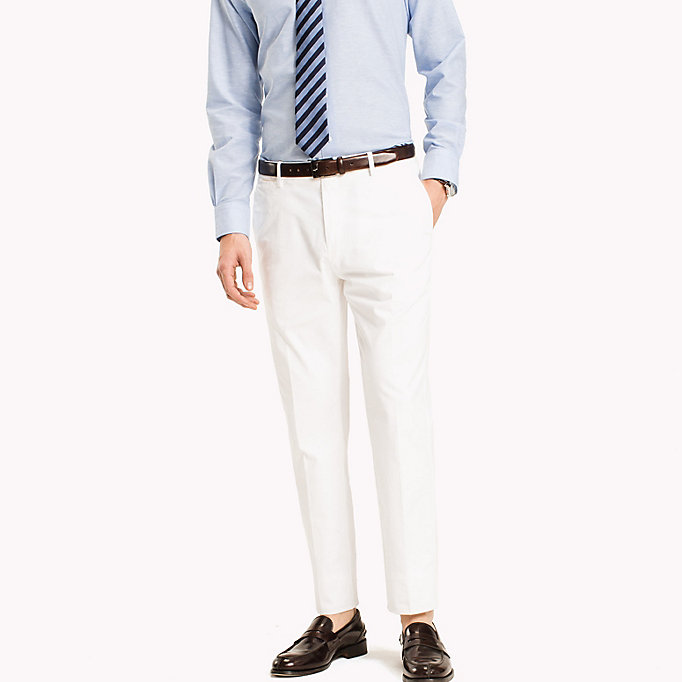 TOMMY HILFIGER Tailored Slim Fit Trousers - 309 - TOMMY HILFIGER Men - main image