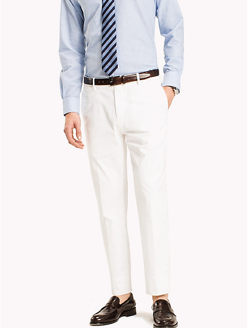 TOMMY HILFIGER Tailored Slim Fit Trousers - 100 - TOMMY HILFIGER What to Wear - main image