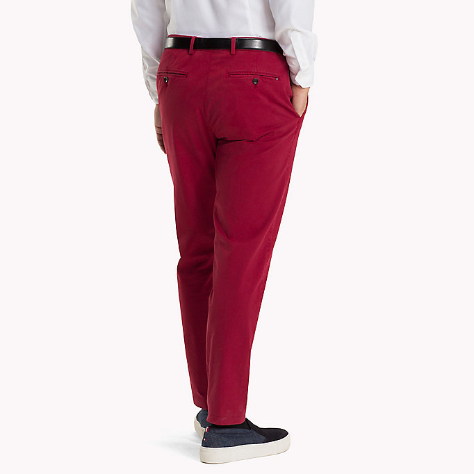 TOMMY HILFIGER Tailored Slim Fit Trousers - 618 - TOMMY HILFIGER Men - detail image 1