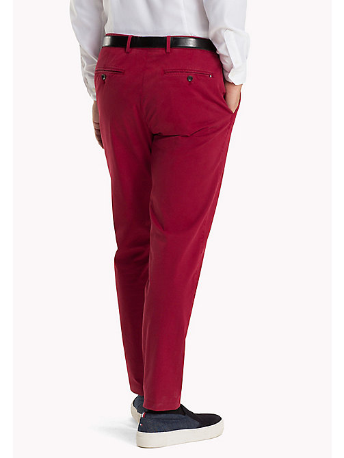 TOMMY HILFIGER Tailored Slim Fit Trousers - 309 - TOMMY HILFIGER Trousers - detail image 1