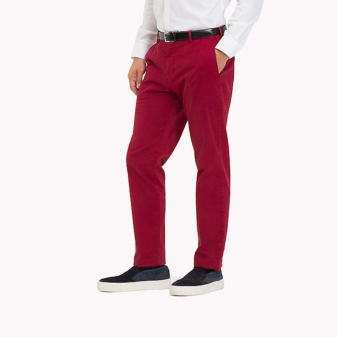 TOMMY HILFIGER Tailored Slim Fit Trousers - 618 - TOMMY HILFIGER Men - detail image 2