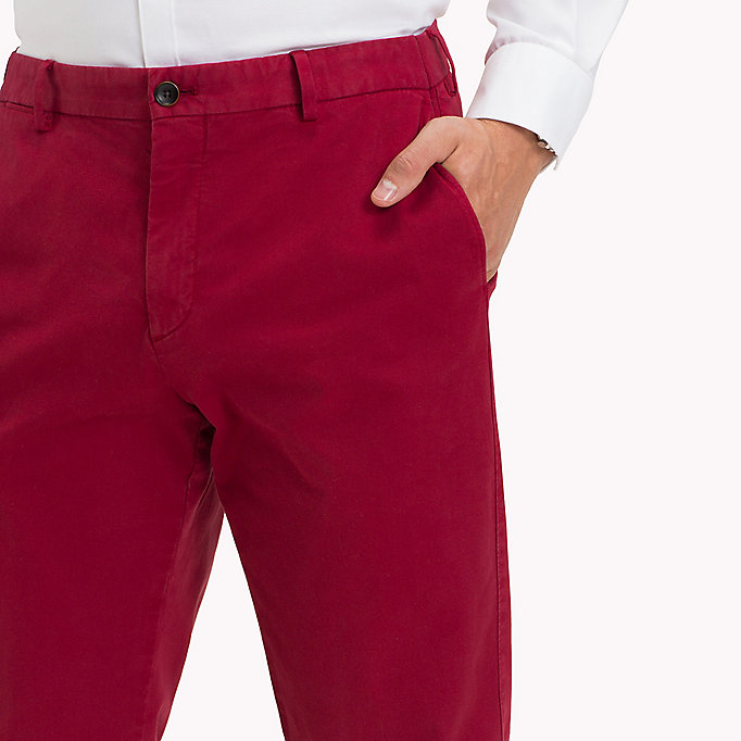 TOMMY HILFIGER Tailored Slim Fit Trousers - 618 - TOMMY HILFIGER Men - detail image 3