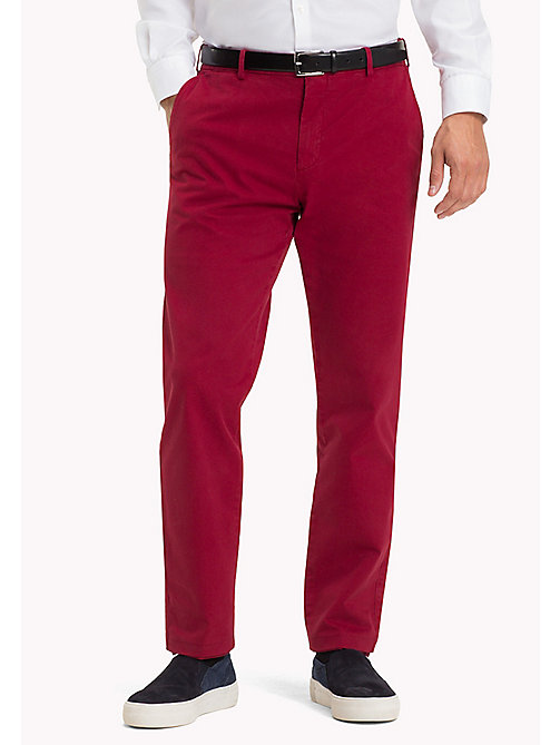 TOMMY HILFIGER Tailored Slim Fit Trousers - 309 - TOMMY HILFIGER Trousers - main image