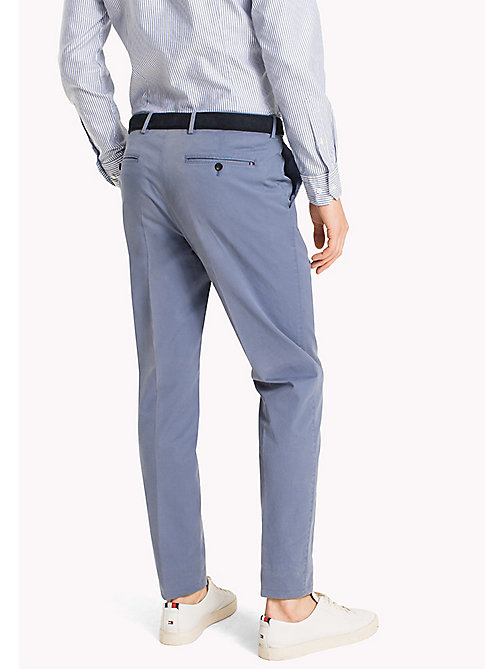 TOMMY HILFIGER Tailored Slim Fit Trousers - 415 - TOMMY HILFIGER Trousers - detail image 1