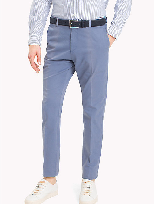 TOMMY HILFIGER Tailored Slim Fit Trousers - 415 - TOMMY HILFIGER Trousers - main image
