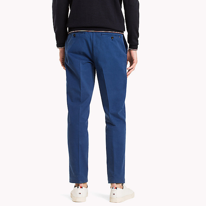TOMMY HILFIGER Tailored Slim Fit Trousers - 801 - TOMMY HILFIGER Men - detail image 1