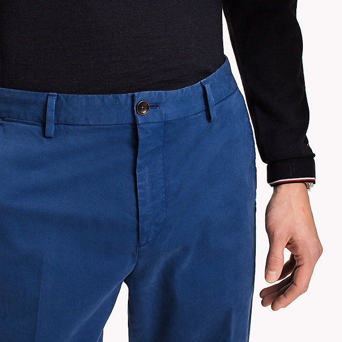 TOMMY HILFIGER Tailored Slim Fit Trousers - 801 - TOMMY HILFIGER Men - detail image 3
