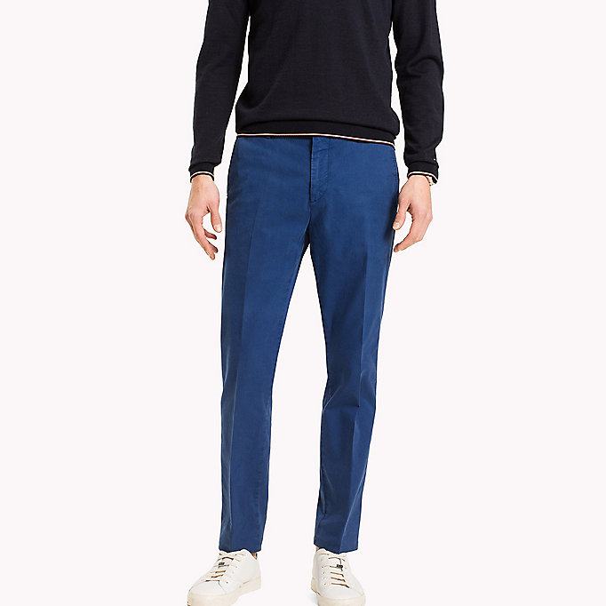 TOMMY HILFIGER Tailored Slim Fit Trousers - 801 - TOMMY HILFIGER Men - main image