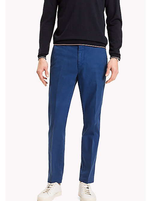 TOMMY HILFIGER Tailored Slim Fit Trousers - 419 - TOMMY HILFIGER Trousers - main image