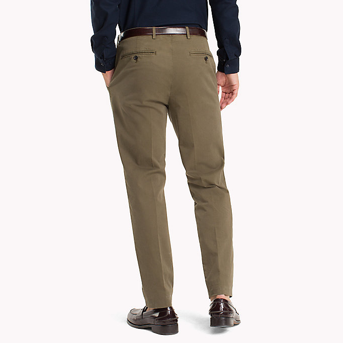 TOMMY HILFIGER Tailored Slim Fit Trousers - 419 - TOMMY HILFIGER Men - detail image 1