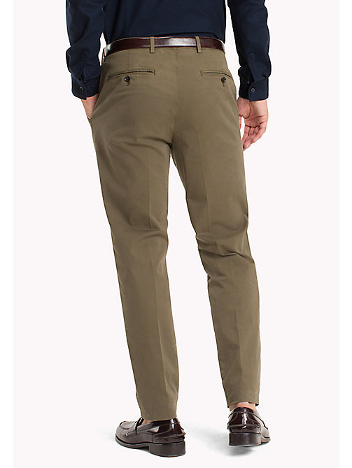 TOMMY HILFIGER Tailored Slim Fit Trousers - 618 - TOMMY HILFIGER Trousers - detail image 1