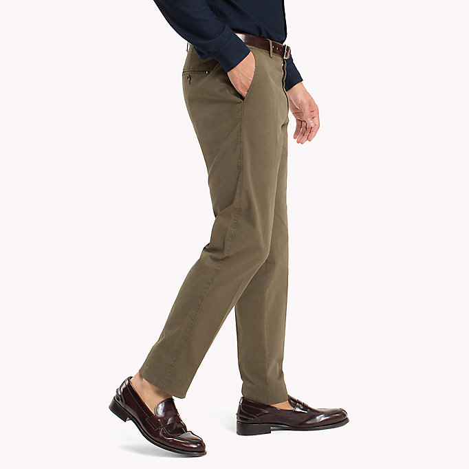 TOMMY HILFIGER Tailored Slim Fit Trousers - 419 - TOMMY HILFIGER Men - detail image 2
