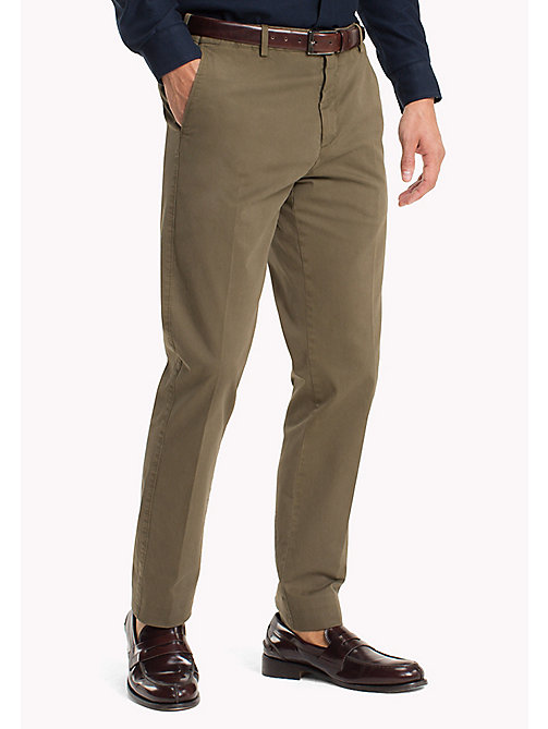 TOMMY HILFIGER Tailored Slim Fit Trousers - 618 - TOMMY HILFIGER Trousers - main image