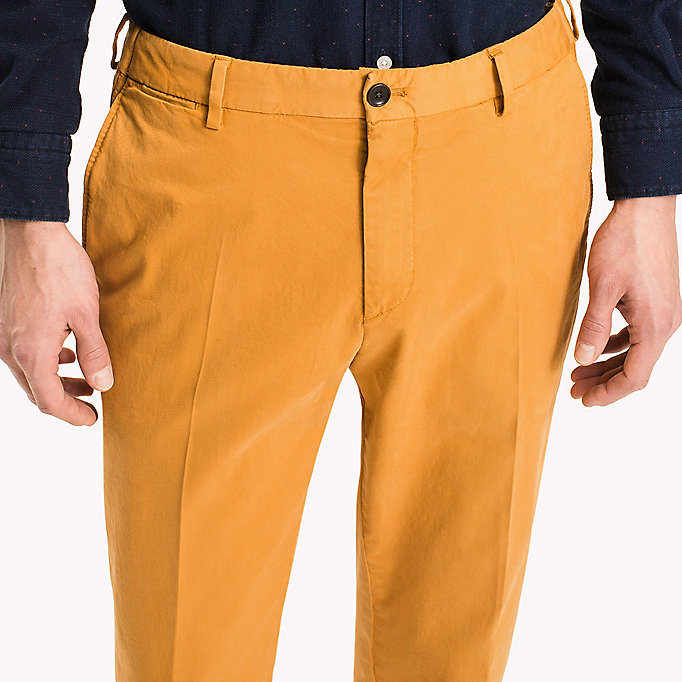 TOMMY HILFIGER Tailored Slim Fit Trousers - 415 - TOMMY HILFIGER Men - detail image 3