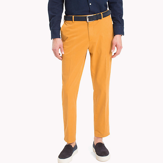 TOMMY HILFIGER Tailored Slim Fit Trousers - 415 - TOMMY HILFIGER Men - main image