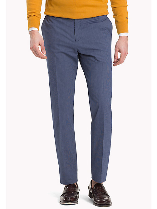 TOMMY HILFIGER Printed Slim Fit Trousers - 427 - TOMMY HILFIGER Trousers - main image